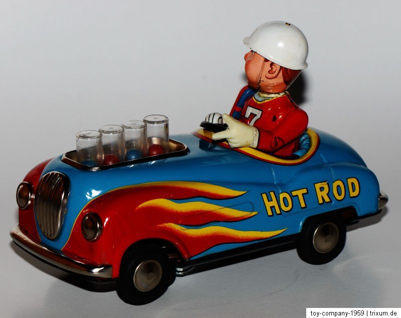 Super Hot Rod - Non stop action by modern toys 1959 1acbf810
