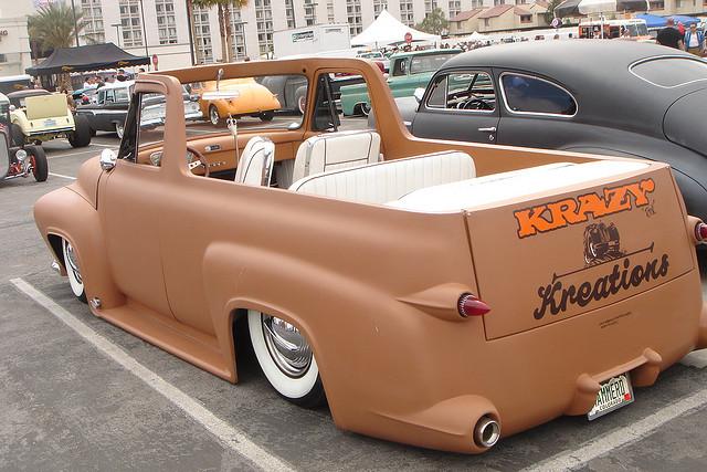 Ford Pick Up 1953 - 1956 custom & mild custom 22063111