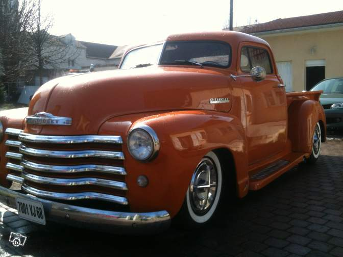 Chevy Pick up 1947 - 1954 custom & mild custom 23053210