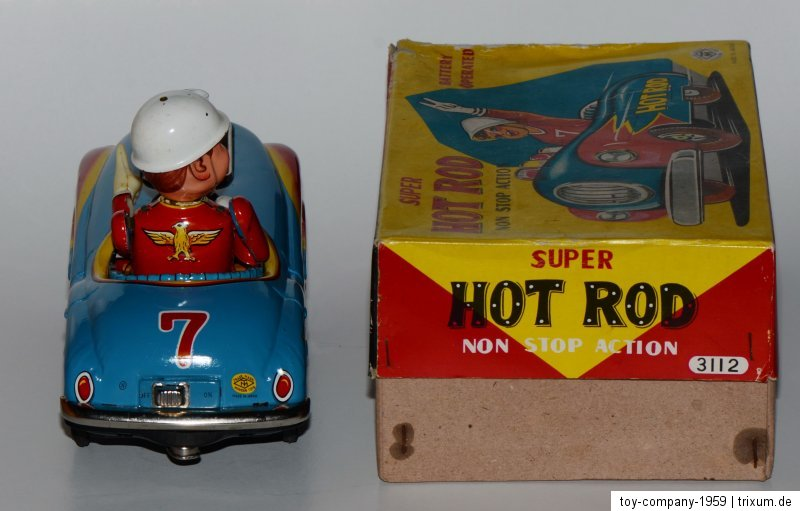 Super Hot Rod - Non stop action by modern toys 1959 2c607e10