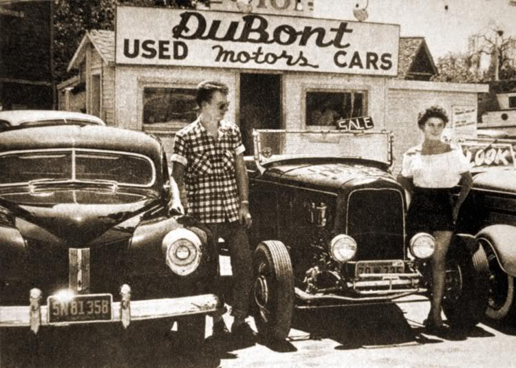 "Hot rod in street - Vintage pics - ""Photos rétros"" -  - Page 2 32110010"