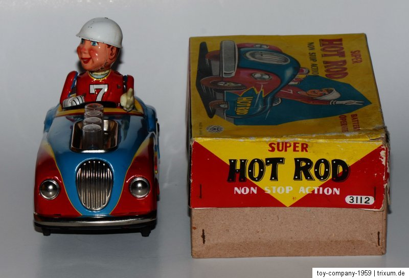 Super Hot Rod - Non stop action by modern toys 1959 37ee7010