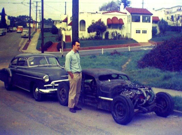 "Hot rod in street - Vintage pics - ""Photos rétros"" -  - Page 2 40683910"