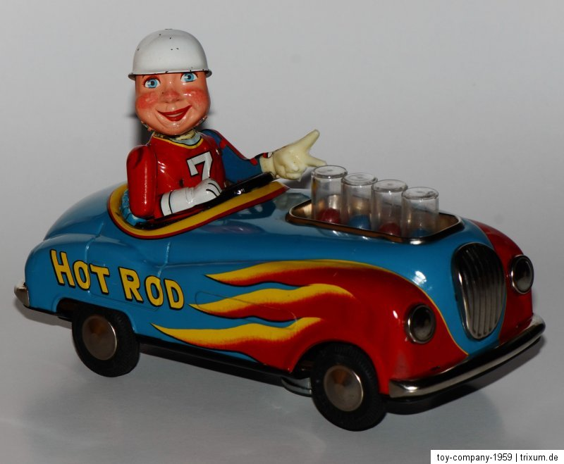 Super Hot Rod - Non stop action by modern toys 1959 44ab6f10