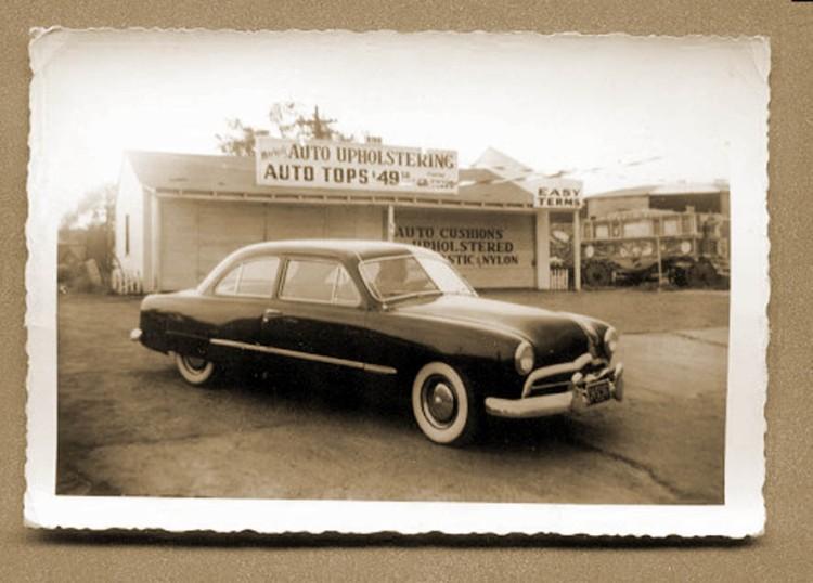 custom cars in the street ( 1950's & 1960's) 49ford10
