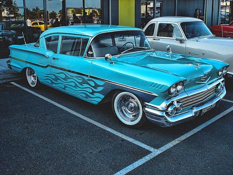 Chevy 1958 custom & mild custom 50643110