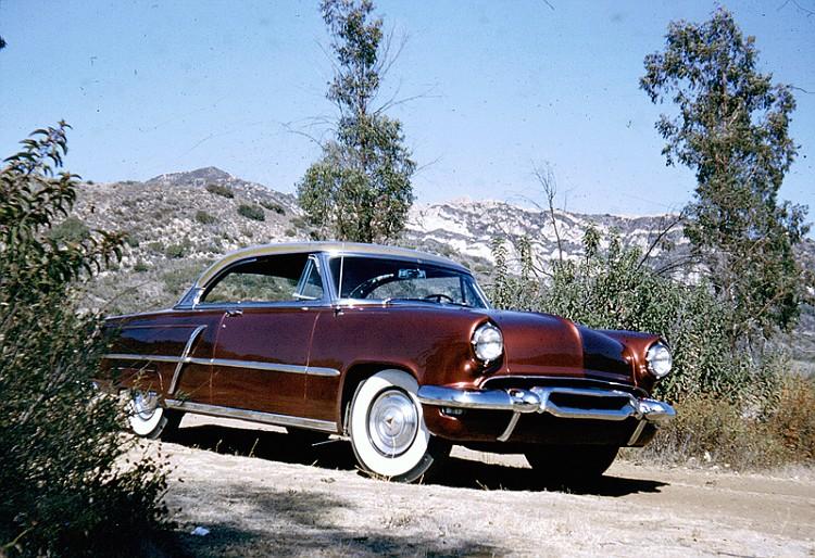 custom cars in the street ( 1950's & 1960's) 52_lin11