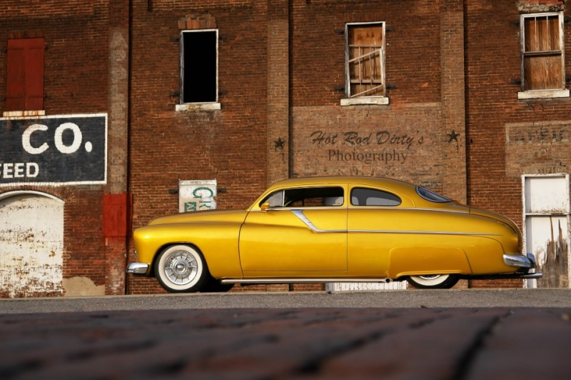 """1949 Mercury - """"GOLD RUSH""""  53085810"""