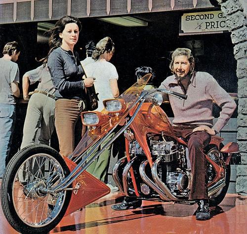 Photo Vintage -vintage pics - Chopper & Bobber 53116711