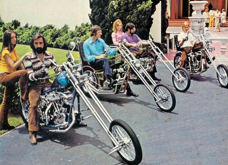 Photo Vintage -vintage pics - Chopper & Bobber 53116714