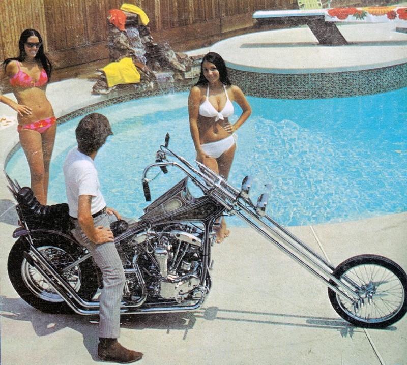 Photo Vintage -vintage pics - Chopper & Bobber 53116716