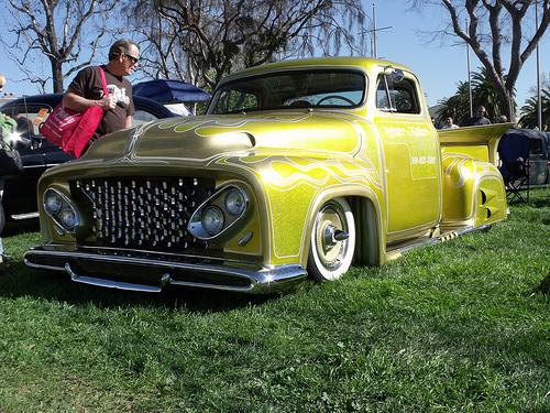 Ford Pick Up 1953 - 1956 custom & mild custom 54122410