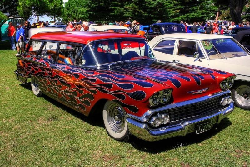 Chevy 1958 custom & mild custom 54558110