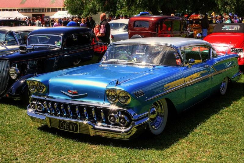 Chevy 1958 custom & mild custom 54603510