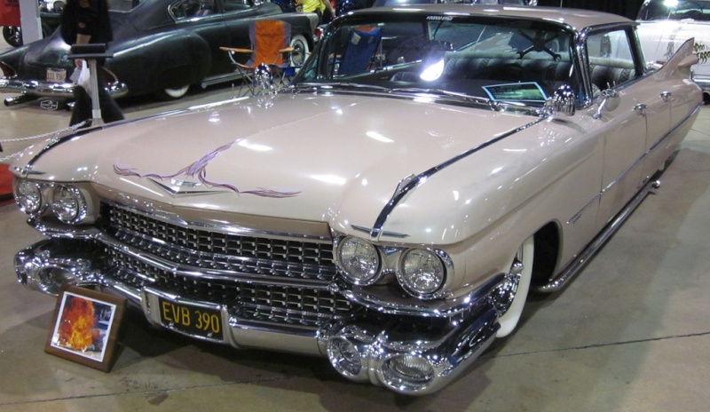 Cadillac 1959 - 1960 custom & mild custom 55339610