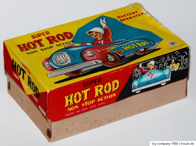 Super Hot Rod - Non stop action by modern toys 1959 56d41c10