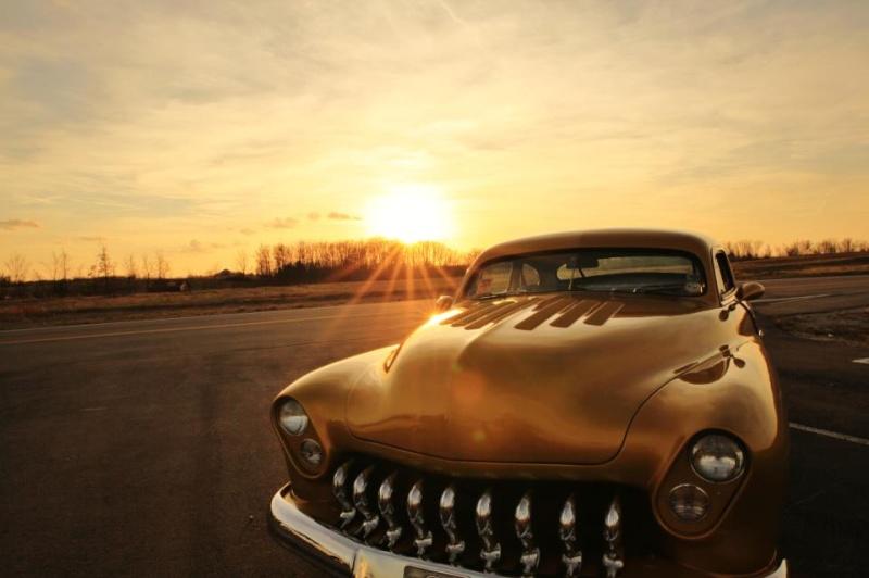 """1949 Mercury - """"GOLD RUSH""""  57797010"""