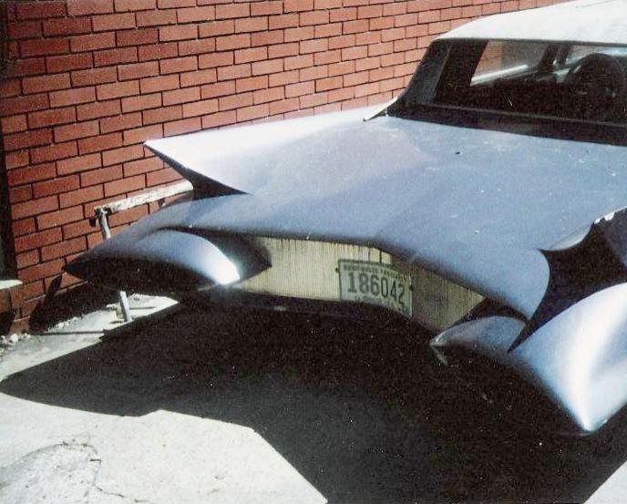 custom cars in the street ( 1950's & 1960's) 62536910