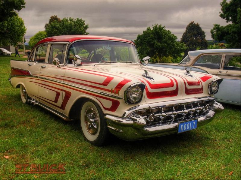 Chevy 1957 custom & mild custom 63117310