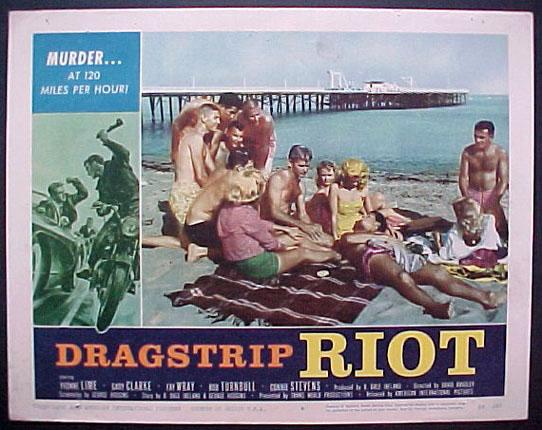 DRAGSTRIP RIOT - David Bradley - 1958 891610