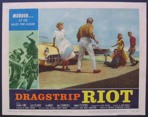 DRAGSTRIP RIOT - David Bradley - 1958 912610