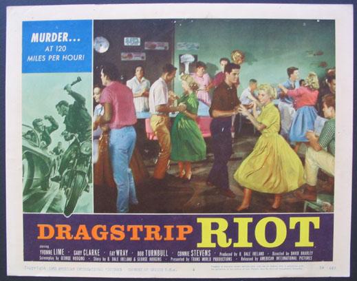 DRAGSTRIP RIOT - David Bradley - 1958 912810