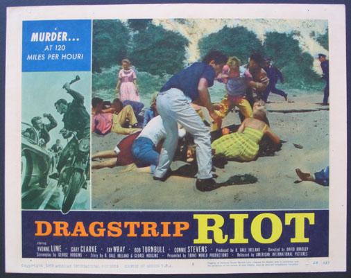 DRAGSTRIP RIOT - David Bradley - 1958 912910