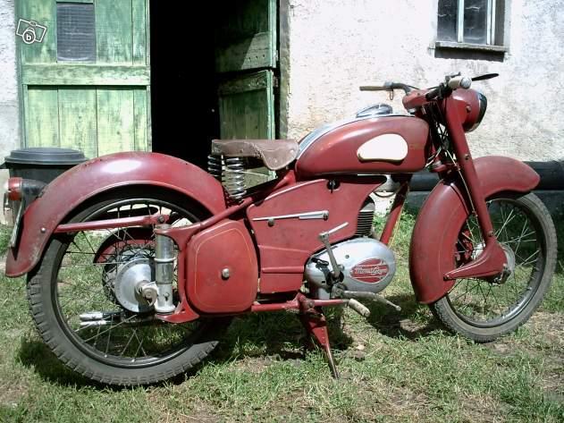125 cm3 1950's et 1960's 95822111
