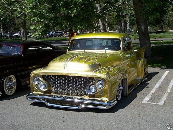 Ford Pick Up 1953 - 1956 custom & mild custom B60e_310