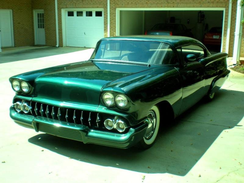 Chevy 1958 custom & mild custom Ba16210