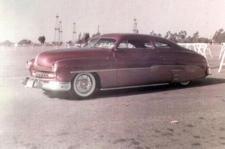 custom cars in the street ( 1950's & 1960's) Bettan11