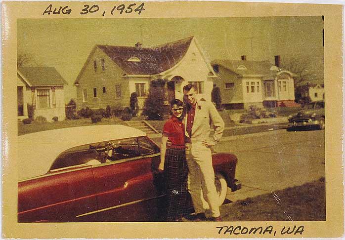 custom cars in the street ( 1950's & 1960's) Billwo10