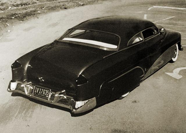 custom cars in the street ( 1950's & 1960's) Bugari11
