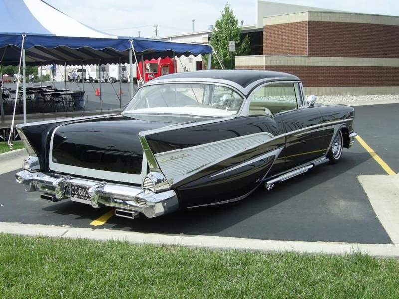 Chevy 1957 custom & mild custom Butman10