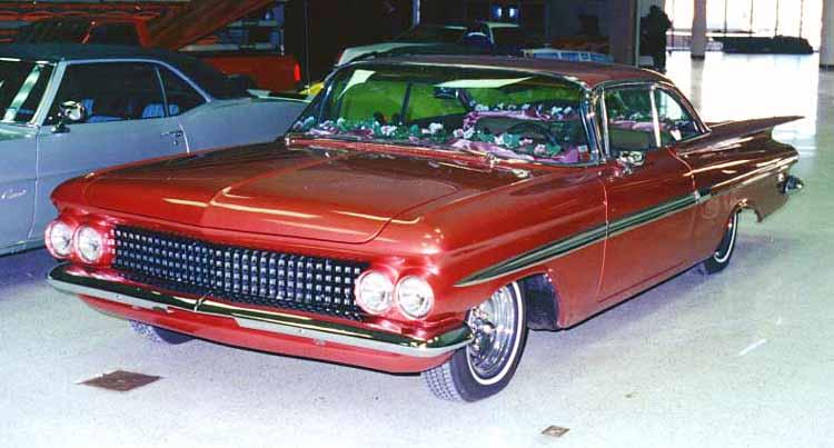 Chevy 1959 kustom & mild custom Cust510
