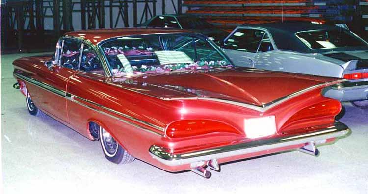 Chevy 1959 kustom & mild custom Cust610