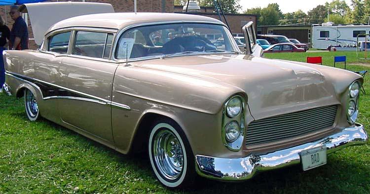 Chevy 1955 custom & mild custom Dean0910