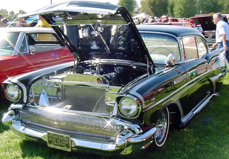 Chevy 1957 custom & mild custom Dean1210