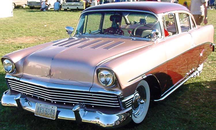 Chevy 1956 custom & mild custom Dean2311