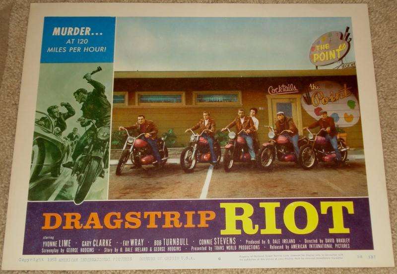 DRAGSTRIP RIOT - David Bradley - 1958 Drag_s10