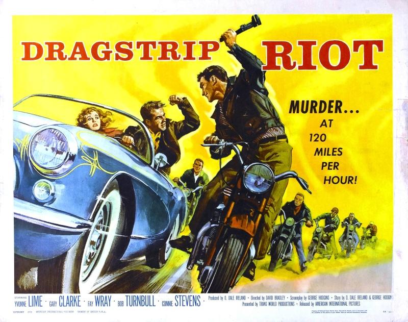 DRAGSTRIP RIOT - David Bradley - 1958 Dragst10