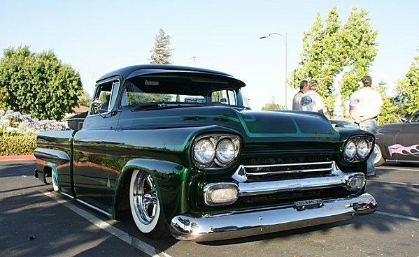 Chevy pick up  1955 - 1959 custom & mild custom Dsc01210