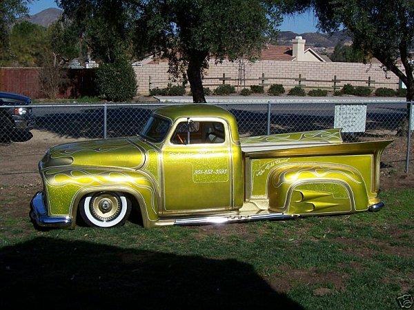 Ford Pick Up 1953 - 1956 custom & mild custom E96c_310