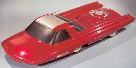 Ford Nucleon - concept car 1958 Ford2010