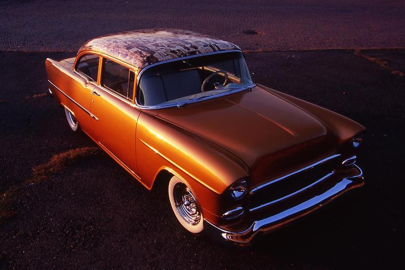 Chevy 1955 custom & mild custom Front210