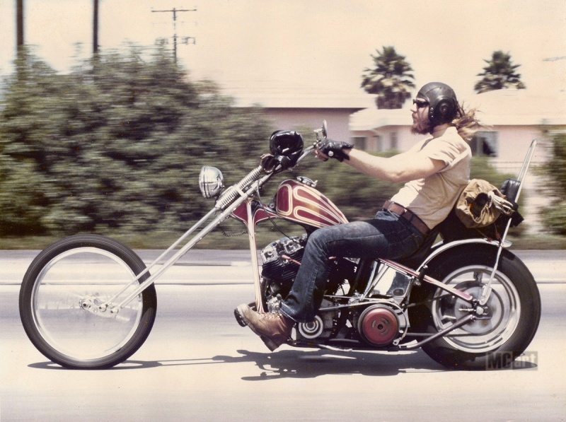 Photo Vintage -vintage pics - Chopper & Bobber Gary-s10
