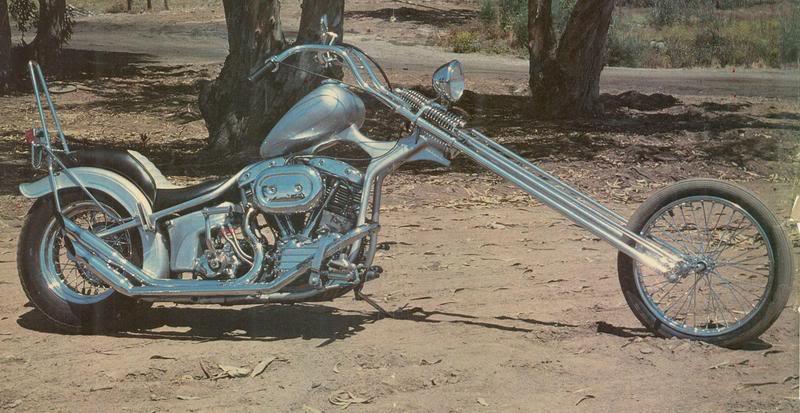 Photo Vintage -vintage pics - Chopper & Bobber Goosec10