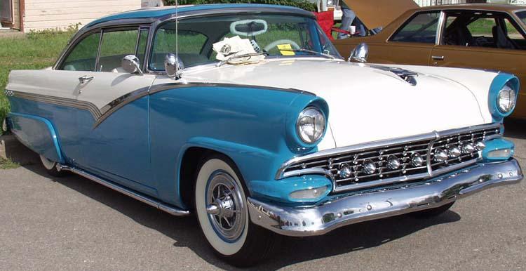 Ford 1955 - 1956 custom & mild custom Hal34710