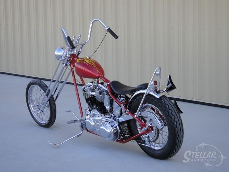 1952 Harley-Davidson FL Pan Head Full Custom Hw_80010