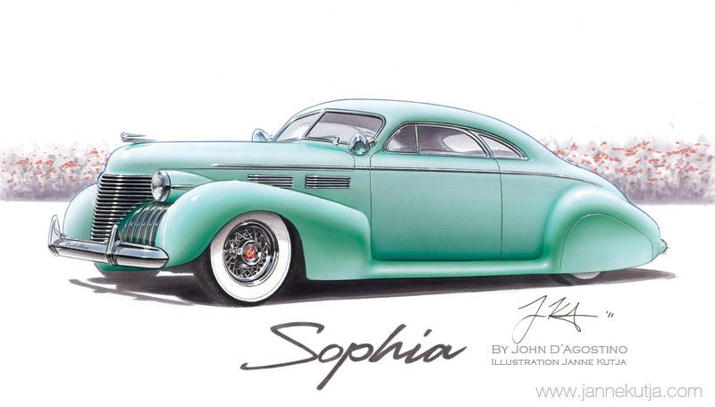 Cadillac 1938 - 1940 custom and mild custom Janne-10